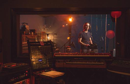 Brian Reitzell, compositor de la banda sonora de 'Hannibal'